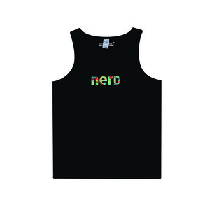 HOUNDVILLE NERD TANK TOP BLACK