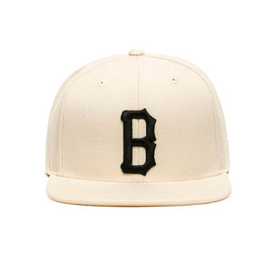 [2017 Summer] BLACKSCALE B Logo Snap Back Cream