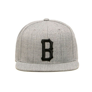 [2017 Summer] BLACKSCALE B Logo Snap Back Grey