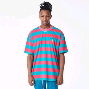 FNTY Stripe icecream oversized t-shirt