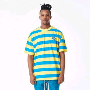 FNTY Stripe sunflower oversized t-shirt