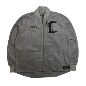 CROOKS&CASTLES MENS POLAR FLEECE CARDIGAN [2]
