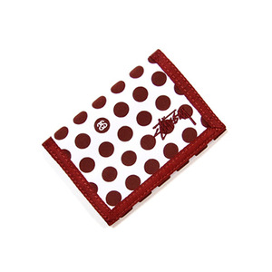 STUSSY DOTS WALLET [2]