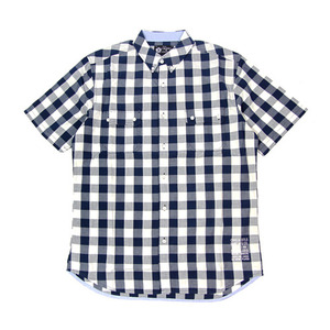CROOKS&CASTLES MENS WOVEN PLAID S/S SHIRT [2]