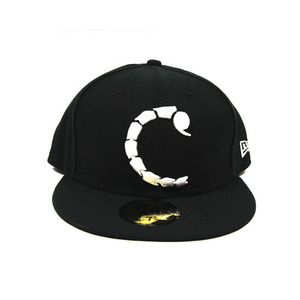 CROOKS&CASTLES MENS WOVEN SCORPION C FITTED NEW ERA [1]