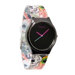 MISHKA WATCH LOGO COLLAGGE