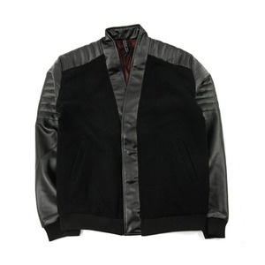 BLACK SCALE BIKERS CARDIGAN