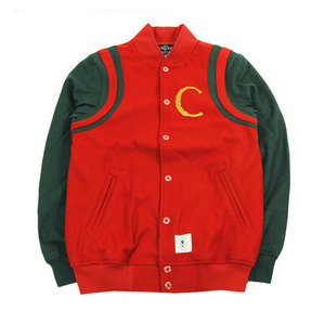 CROOKS & CASTLES MENS WOVEN BASEBALL JKT HI-LUXE [2]