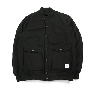 CROOKS & CASTLES WOVEN WOOL JKT CRKS STADIUM [1]