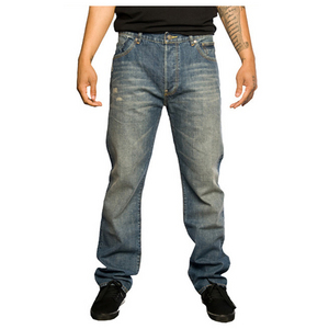 THE HUNDREDS BEVERLY LIGHT INDIGO DENIM