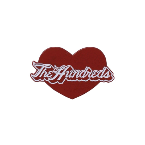 THE HUNDREDS LOVE PIN