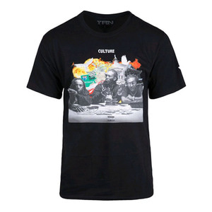 YRN Round Table Tee - Black