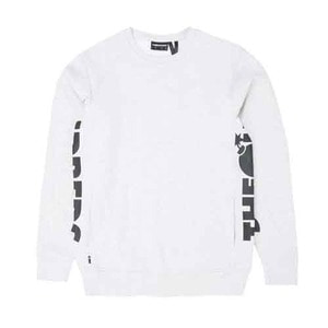 THE HUNDREDS Sidewinder Crewneck Ash Heather