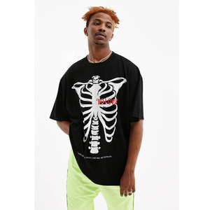 FNTY Reflecting heartbreaker T-shirt Black