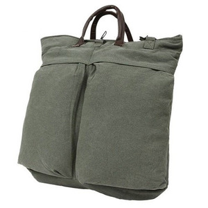 ROTHCO Vintage Canvas Helmet Shoulder Bag [2]