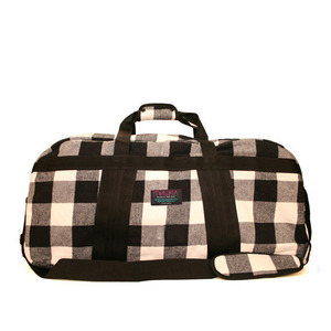 МИШКА Cody Plaid Flannel Duffle Bag [1]
