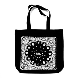 BAAL CROSS STAR PAISLEY TOTE BAG