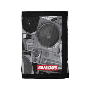 FAMOUS BOOMBONES TRIFOLD WALLET
