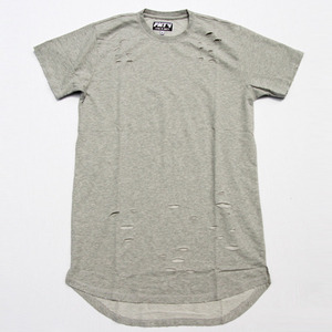 FNTY Distressed Long T-Shirt