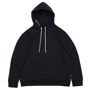 ROCK PSYCHO OVER SIZE HOODIE (BLACK)