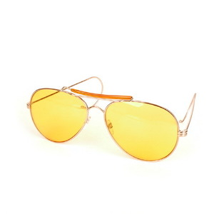 ROTHCO AIR FORCE STYLE SUNGLASS (YELLOW)