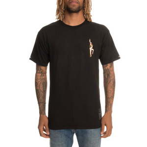 Crooks and Castles The Get Paid Tee in Black