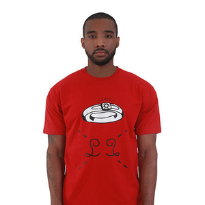 L.O.L.O KISS MY RING T-Shirt (Red)